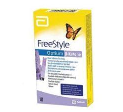 FreeStyle Optium Beta-Ketone Teststreifen 10 Stück